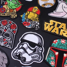 Prajna Star Wars Patch Military Morale Embroidered Patches For Clothing DIY Iron On Clothes Stripes Stickers Badge