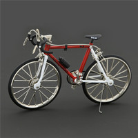 New Metal Simulation Bike Model 1:10 Road Bicycle model