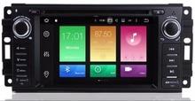 4G 6.2 Android 9.0 Octa Core Car Radio DVD Player GPS Navigation for JEEP Patriot Liberty Wrangler Compass DODGE Chrysler 3G цена