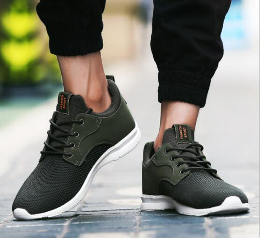 Men's Casual Shoes Men's Shoes Sporting 2019 Autumn New Mens Peas Shoes Waterproof Sets Of Feet Driving Shoes Casual Explosion Models Large Size Shoes 36-47 Yards