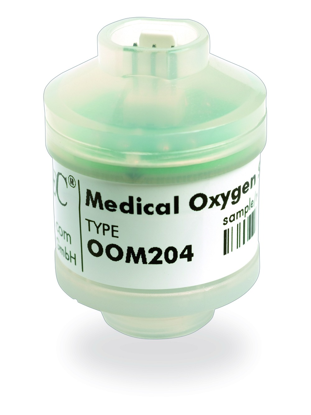 OOM-204 oxygen battery Applied to Drager, Mustang, Hamilton, Newport, ChenweiOOM-204 oxygen battery Applied to Drager, Mustang, Hamilton, Newport, Chenwei