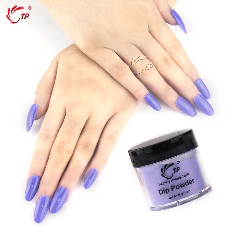 TP 28g/Box (1OZ) 29 Colors Dipping Powder No Lamp Cure Nails Dip ...