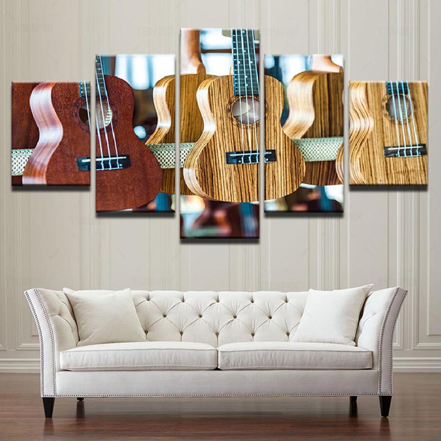 Classic Home Decor Pieces: Wall Art Framework Pictures HD Prints Canvas 5 Pieces