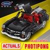 XingBao 03010 Block 825Pcs Creative MOC Technic Series The Photpong Car Set Education Building Blocks Bricks