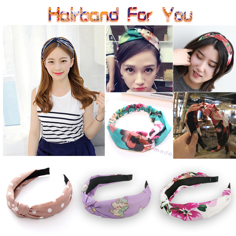 50 COLORS Shipping Hairband Headband for Women Elastic Turban Headband Sport Head Wrap   Headwear   Hair Accessories