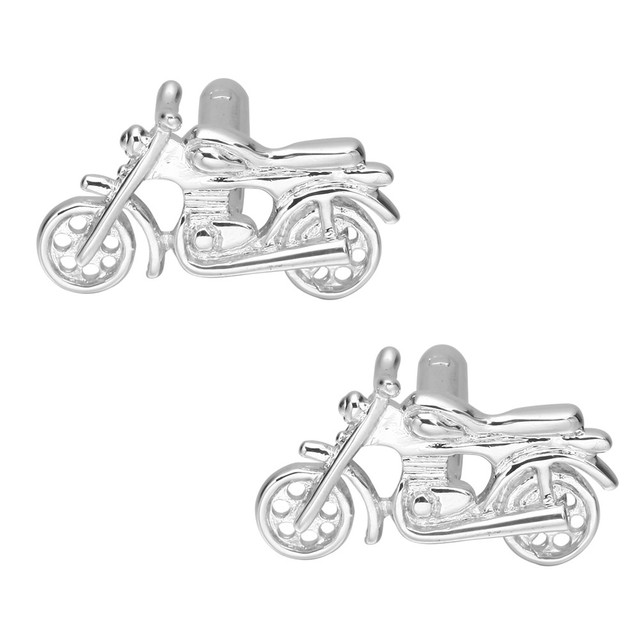 Memolissa Jewelry Men's Shirt Cuff Button Motorcycle Cufflinks Wedding Products