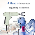 110V / 220V  4 Heads adjustable intensity Therapy Chiropractic Adjusting Instrument \Electric Correction Gun Activator Massager