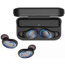 AWEI T3 Bluetooth Earphone IPX4 Waterproof WirelessIn-Ear Earphone Stereo Earbuds Headset Earphone With Charging Box with Mic awei t3 twins wireless earbuds earphone bt5 0 with charging box 18jun18 drop ship f