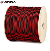 цена на XINDA 10m Paracord Rock Climbing Rope Accessories Cord 6mm Diameter 5KN High Strength Paracord Safety Rope Survival