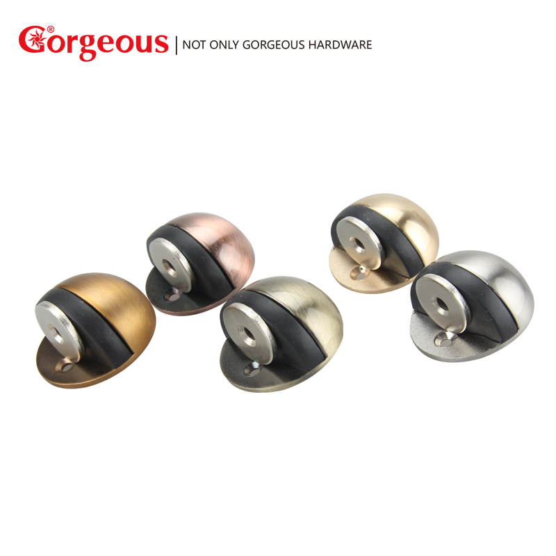 цена Gorgeous 304 stainless steel punch-free door stop plus washer turtle top rubber door bumper bumper door hardware accessories