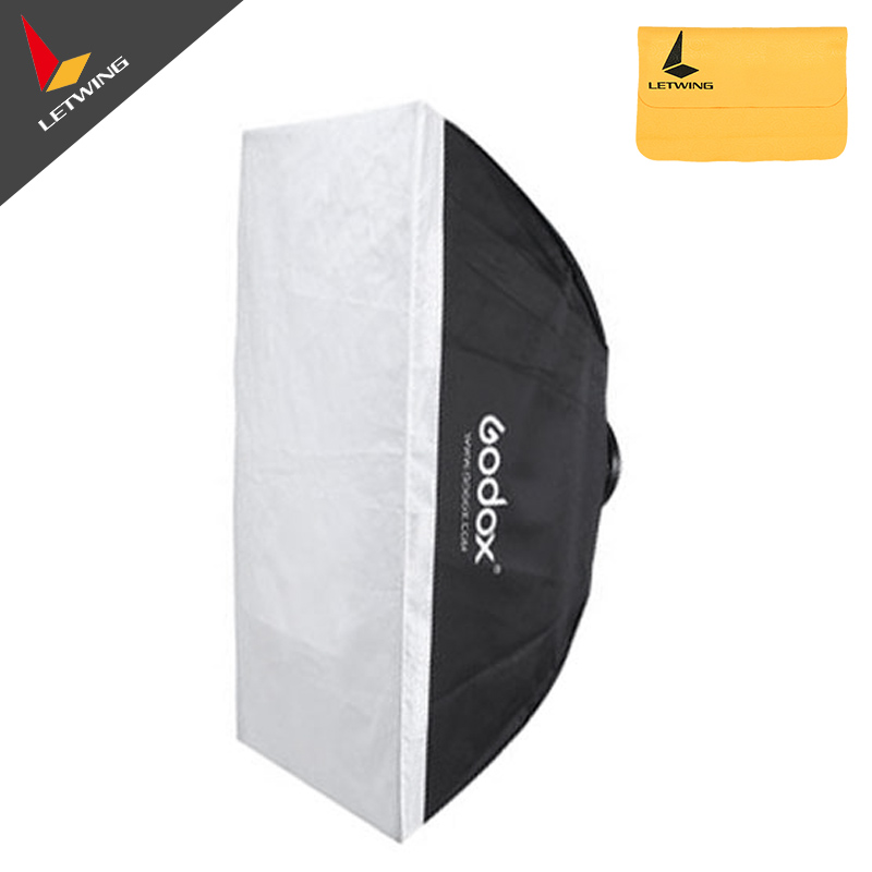 Godox 24x35 60x90cm Softbox soft box with Bowens Mount for Studio Strobe Light Blub Flash Photography Lighting цена 2016