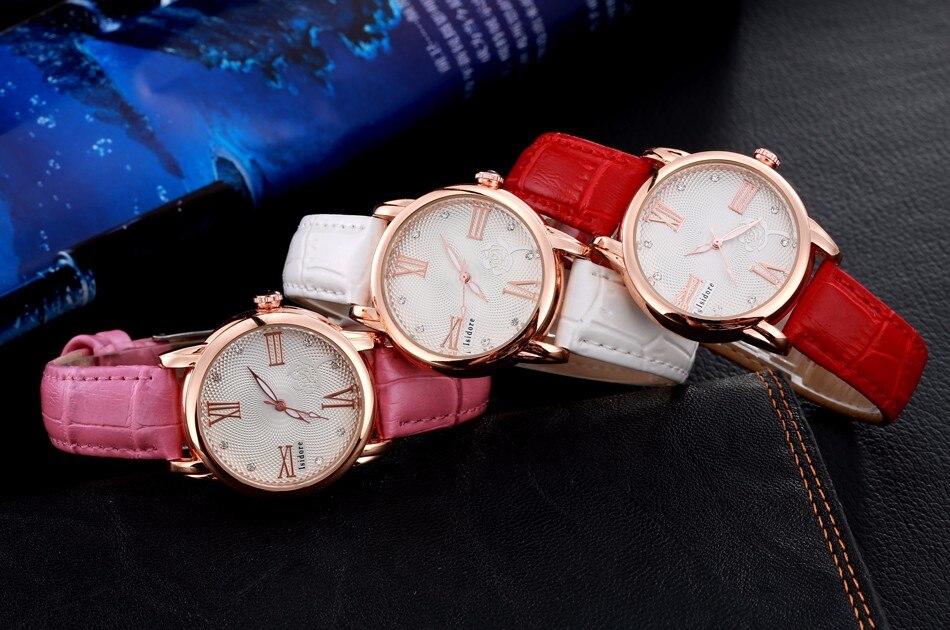 אופנה מזדמן נשים קוורץ שעונים באיכות גבוהה עור גבירותיי שמלת השעון עמיד למים שעון יד לנשים Relogios Feminino