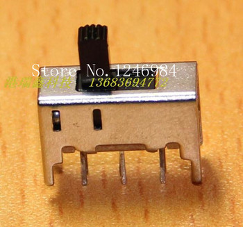 [SA]Small electronic switch toggle vertical sliding switch DC DC welding power switch board SS-22H05--200pcs/lot