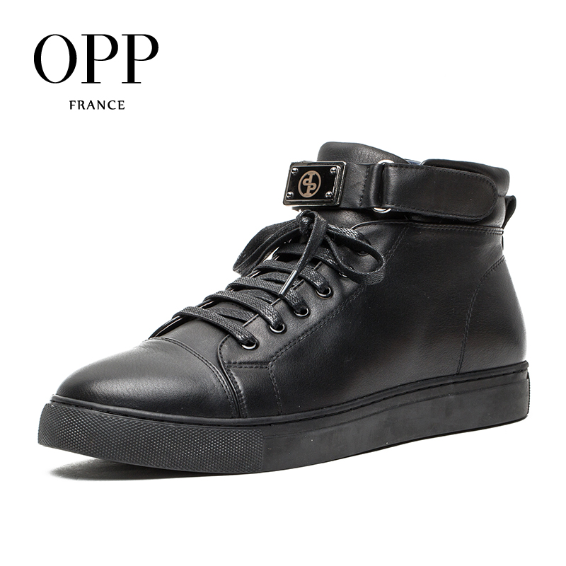 OPP New Keep Warm Men boots 2017 Genuine Leather Men Shoes Winter Boots men Shoes Ankle Boots for men Short Plush inside new men winter boots plush genuine leather men cowboy waterproof ankle shoes men snow boots warm waterproof rubber men boots page 10