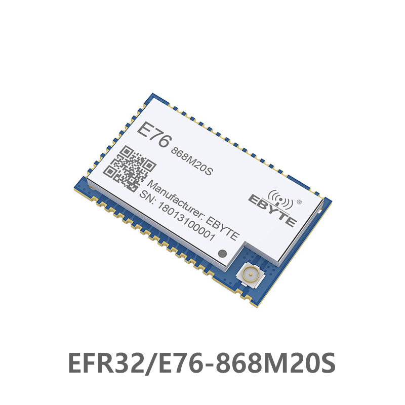 E76-868M20S EFR32  868MHz Cdebyte Rf  Module Wireless Module 2500m SoC ARM 868 MHz Transmitter Receiver High Pricision