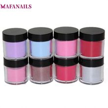 8Colors Dip Powder Without Lamp Cure 10g/Box Nail Dipping Natural Dry Long-lasting Than UV Gel Polish for System