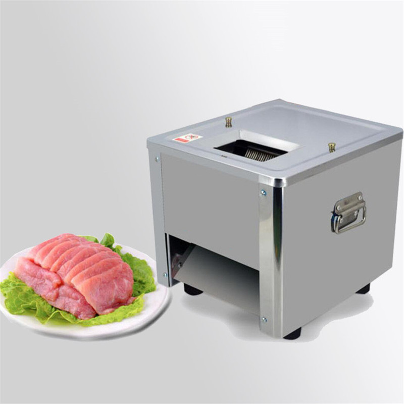 BEIJAMEI Commercial Home Meat Slice Cutter Shredding Cutting Machine Electric Manual Meat Slicer Machine Price стоимость