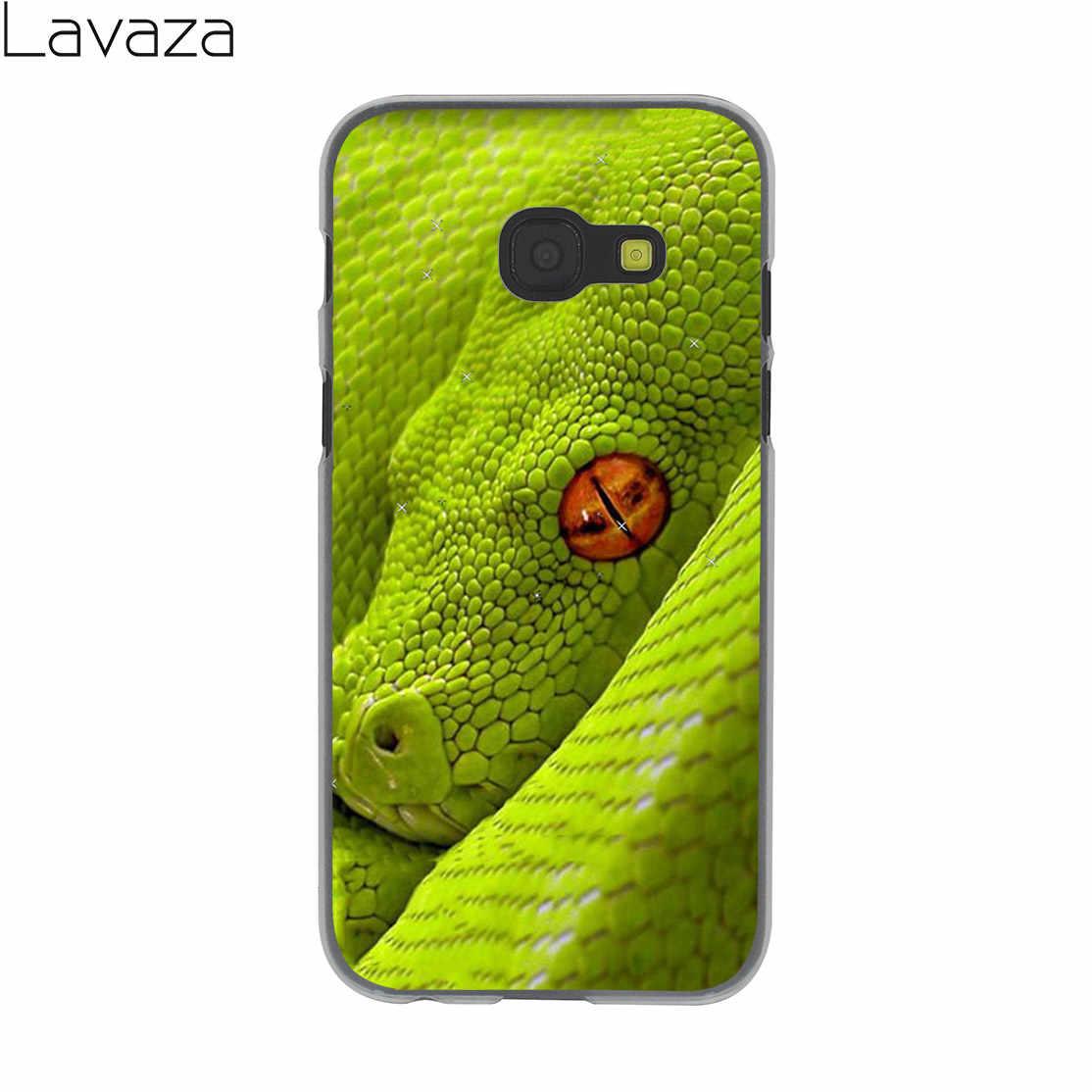 Lavaza кожаная обложка розового цвета со змеиным рисунком весы Kiu зеленый чехол для Samsung Galaxy Note 10 9 8 A9 A8 A7 A6 плюс 2018 A5 A3 2015 2016 2017 A2