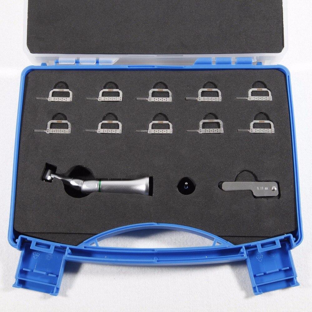 Free shipping Dental Contra Angle Handpiece 4 1 Reduction Interproximal Strips Reciprocating B