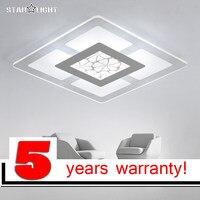 Современный светодио дный светодиодный потолочный светильник для внутреннего освещения plafon светодиодный квадратный потолочный светильни