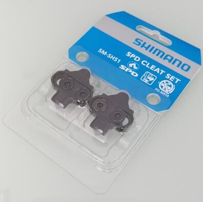 Shimano SM-SH51 SPD Single Release Mountain Bike MTB Pedals Cleats Locking Plate