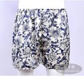 Plus size silk beach  silk panties male silk shorts trunk su216 3