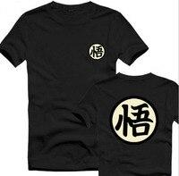 Dragon Ball Z Goku T Shirt Men Two Sides Japanese Casual Cartoon Tee USA Size S