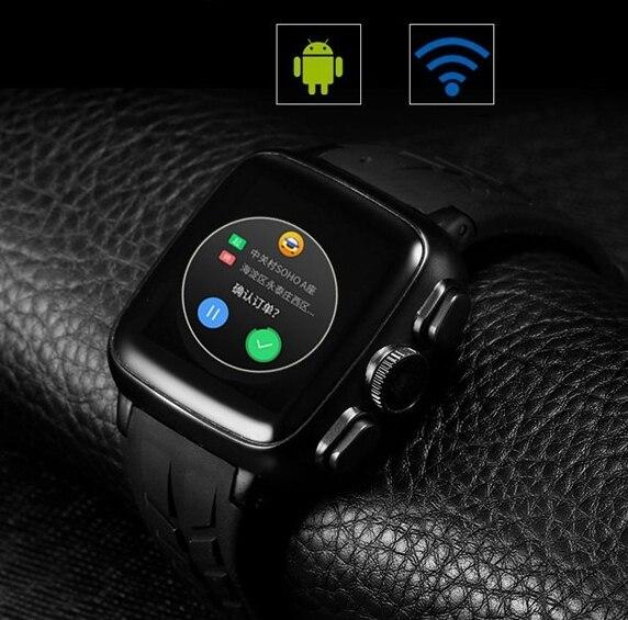 Sapphire touch screen Bluetooth font b Smart b font Watch MTK6572A WristWatch for iPhone 4 4S