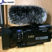 For Sony Deat cat  high quanlity outdoor artifical fur wind microphone cover muff windscreen shield for GZ 1