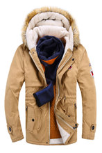 Männer Jacke mantel 2016 herren Winter daunenjacke Mode Solide Baumwolle Warme Jacke Jung Lässig Dicken Mantel manteau homme