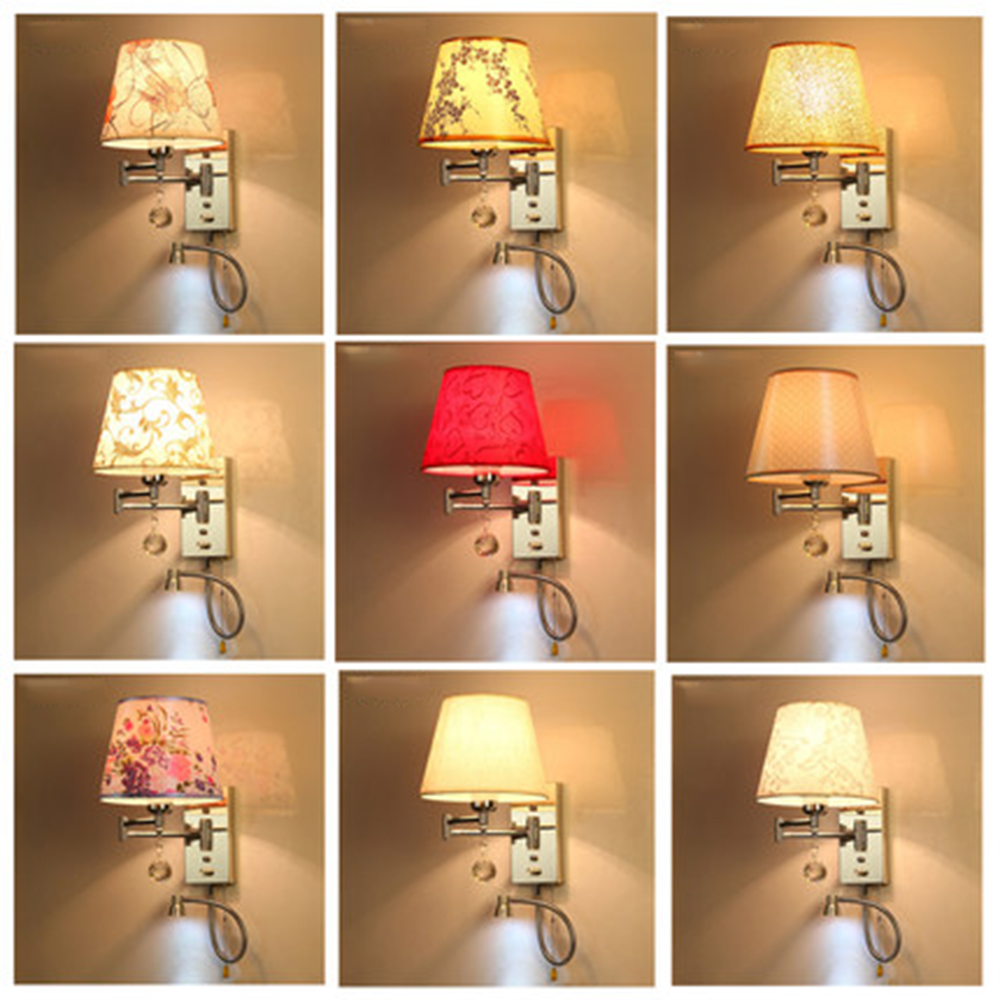 Wall Lamp Led Loft Home Lighting Wall Mounted Bedside Reading Lamps 110-220v Up Down Light Indoor Wall Light Luminarias modern brief bedside wall lamps 1w led reading light lamp wall bed hose rocker arm reading wall lighting fabric lampshade wwl098