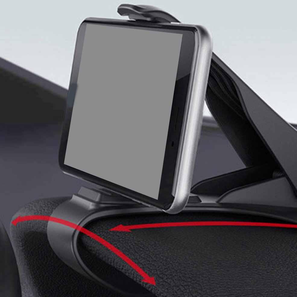 HUD Desain Mobil Mobil Ventilasi Udara Mobil Universal Dashboard Mount Dudukan Klip Aksesori untuk Ponsel