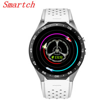 Original Smartch KW88 3G Smart watch Android 5.1 OS, Quad Core support 2.0MP Bluetooth SIM Card WiFi GPS Heart Rate Mon