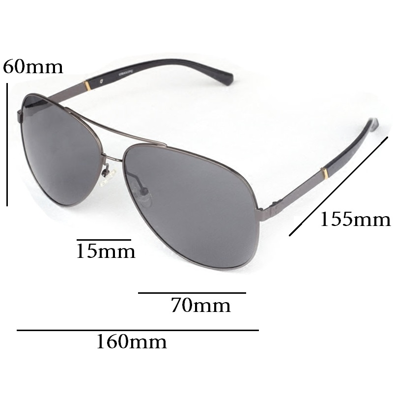 89b49b35c2 Vazrobe (160mm) Oversized Mens Polarized Sunglasses Driving Sun Glasses for  Man Fat Face Wide Head Male Sunglass Aviation-in Sunglasses from Apparel ...