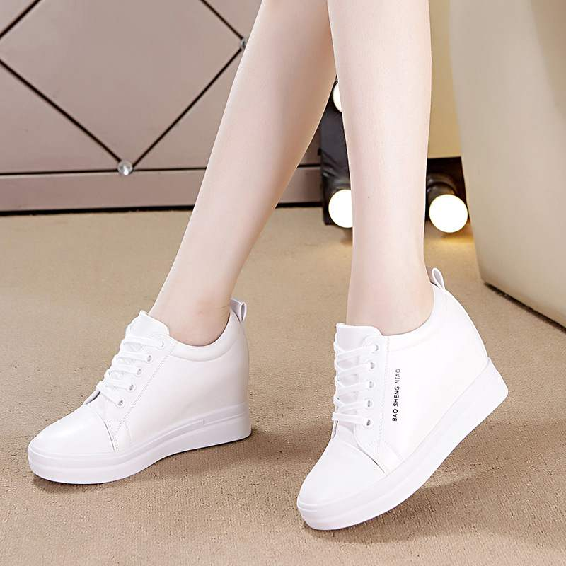 2019 New Pu Leather Shoes Women Wedges Fashion Whte Platform Sneakers Summer Increased Women Casual Shoes High Top Sneakers 2019 New Pu Leather Shoes Women Wedges Fashion Whte Platform Sneakers Summer Increased Women Casual Shoes High Top Sneakers