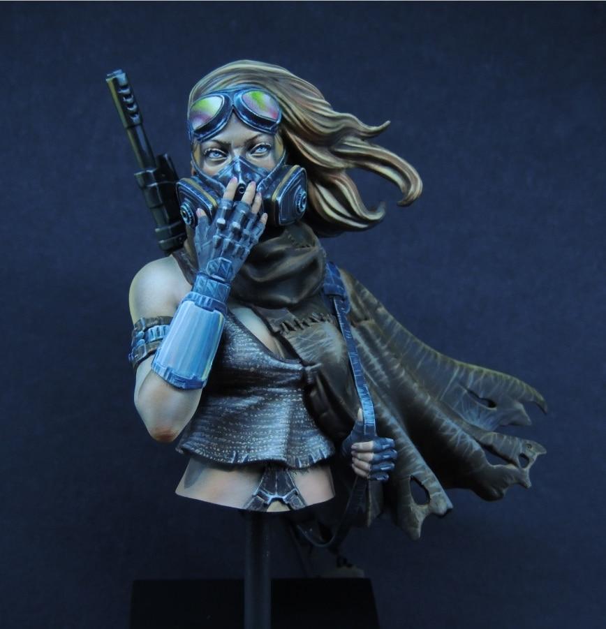 1/10 Resin Bust Model Kit Female Warrior  302D