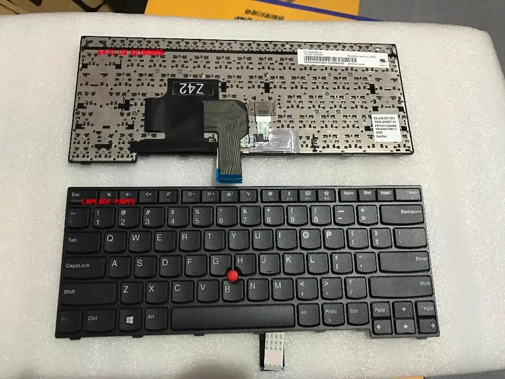 Laplace New Genuine US keyboard for Lenovo Thinkpad E470