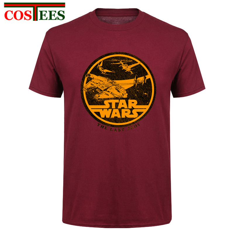 STAR WARS Retro Logo T-Shirt Homme