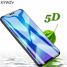 5D Full Glue Tempered Glass For Huawei Honor 8X Screen Protector Protective Film