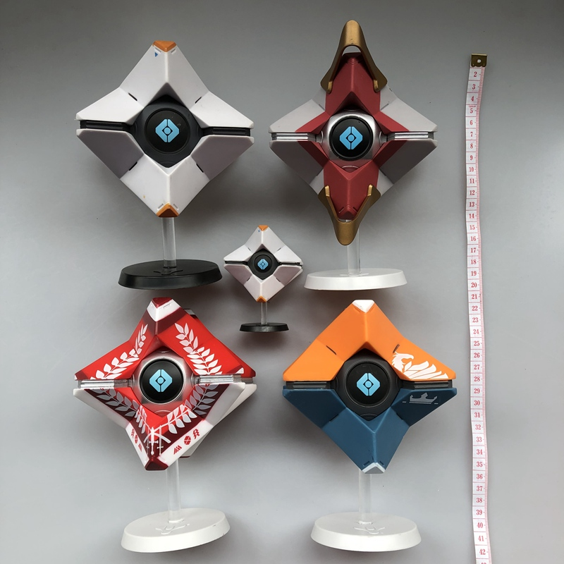 1: 1Original Kit Garagem 20 centímetros Juguetes Destino Fantasma-Última Cidade, Generalista Shell, base de Figura de ação Collectible Modelo Toy Solto