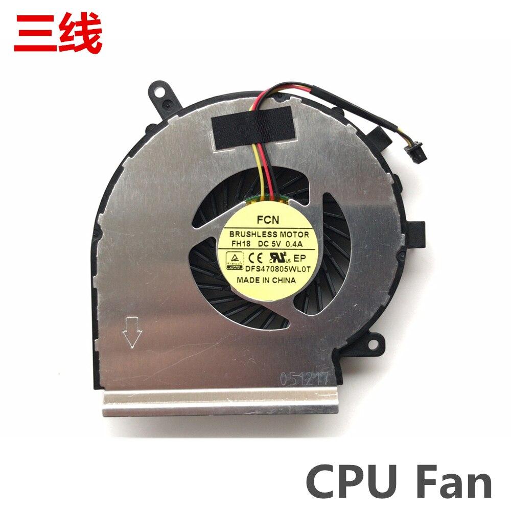 NEW MSI MS-16J1 MS-16J2 MS-16J5 MS-16J8 MS-16JB CPU Fan PAAD06015SL