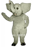 MASCOT CITY Elephant Madagascar Mascot Costume Custom Fancy Costume Anime Cosplay Kits Mascotte Fancy Dress Carnival