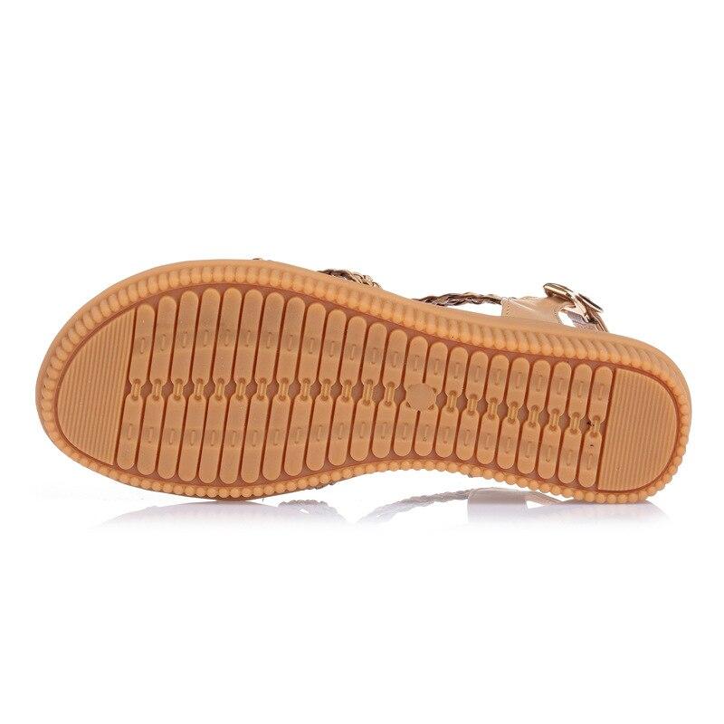 YAERNI 2019Ethnic Women sandals summer woven sandals breathable women wedge sandals zapatos mujer size 35 42E969 YAERNI 2019Ethnic Women sandals summer woven sandals breathable women wedge sandals zapatos mujer size 35-42E969