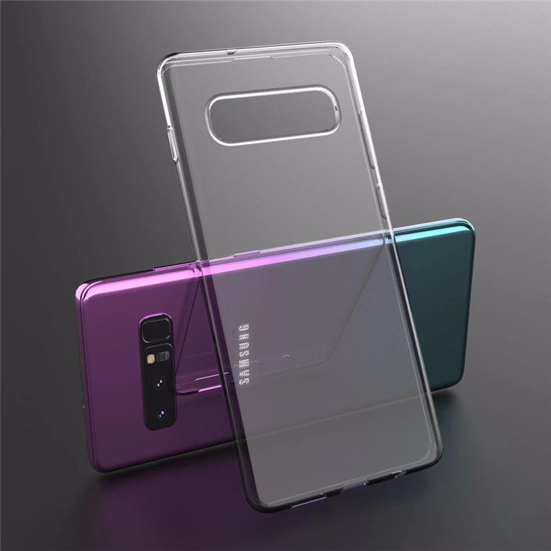 S10 5G Ultra Thin Soft Silicone Case For Samsung Galaxy S10e Case Transparent Crystal TPU Capa For Samsung Galaxy S10 Plus Case