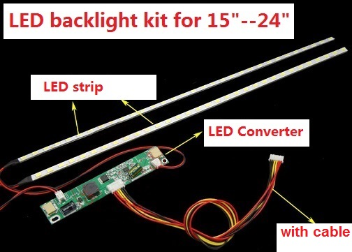 1set=7$ 5set=22.4$ 50set=168$ LED backlight kit 540mm,work for 151719 22 inch 24,LCD screen upgrade LED Monitor 1set=7$ 5set=22.4$ 50set=168$ LED backlight kit 540mm,work for 151719 22 inch 24,LCD screen upgrade LED Monitor