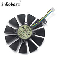 New 87MM T129215SU Cooling Fan For ASUS Strix GTX 980 Ti GTX 1050 1060 1080 1070
