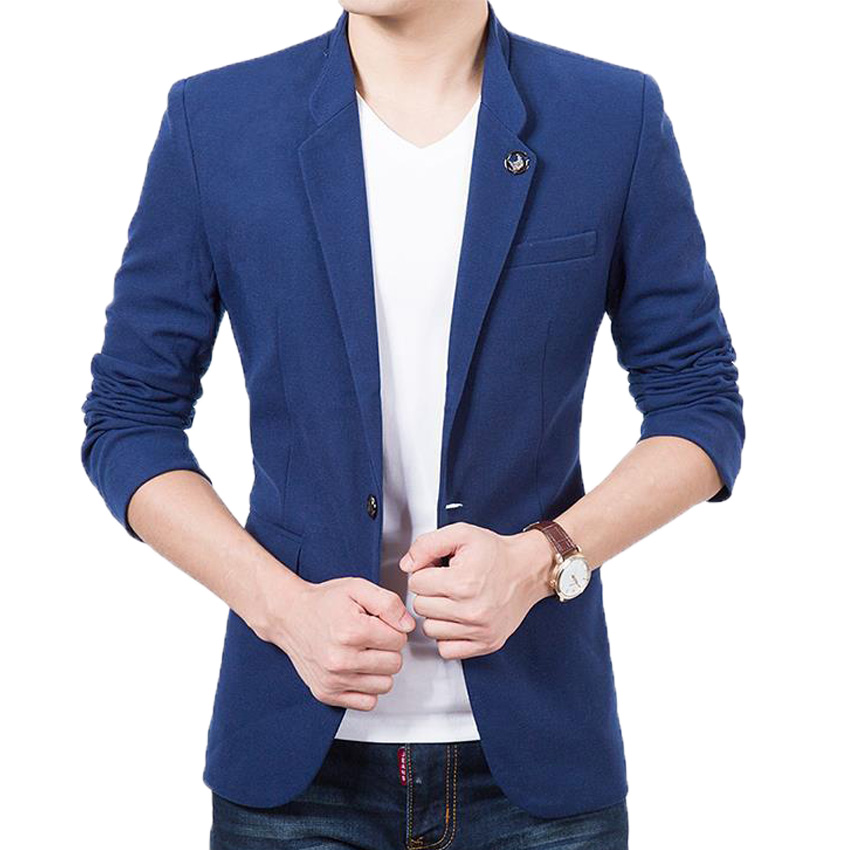 Compare Prices on Mens Blazers in Blue Color- Online Shopping/Buy