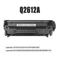 XIJIN 1pcs New 2612A 12A Laser Printer Toner Cartridge Compatible For Laserjet 1015 1018 1020 1022