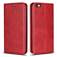 Fashion Case For iPhone XS Case Flip Leather Magnetic Phone Case For iPhone XR Case Wallet Bag For iPhone XS Max Cover