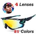 Homens de Bicicleta de montanha JBR MTB Óculos occhiali Polarizada Ciclismo Óculos UV400 Esporte Óculos de Bicicleta Óculos de Sol TR90 Mandíbula Disjuntor